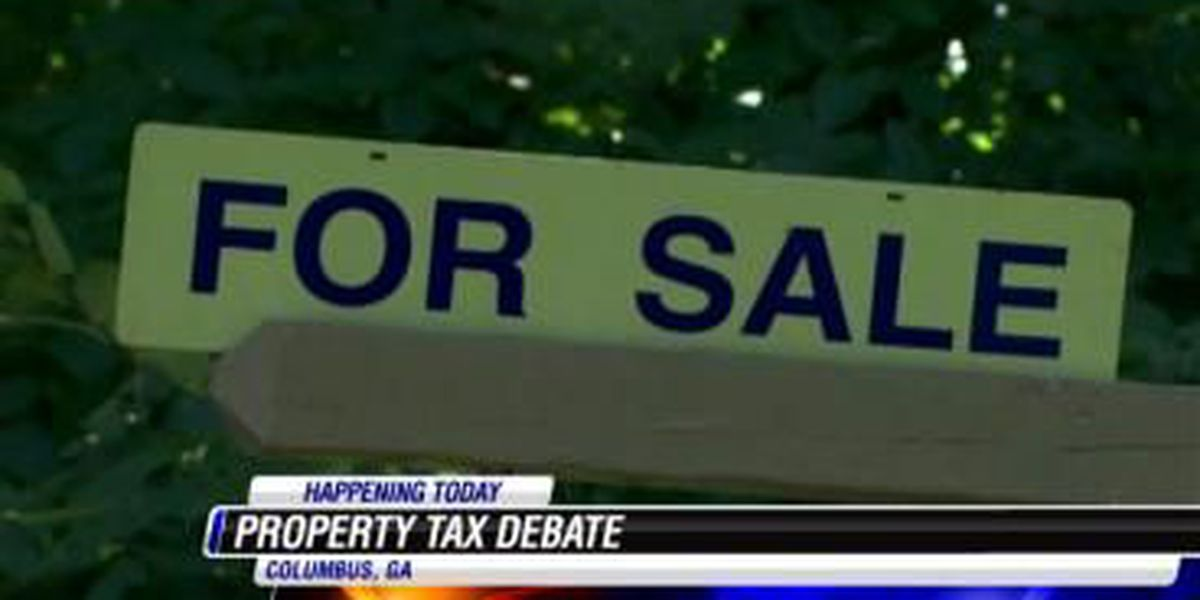 Property tax initiative hot topic at Columbus City Council meeting Tuesday