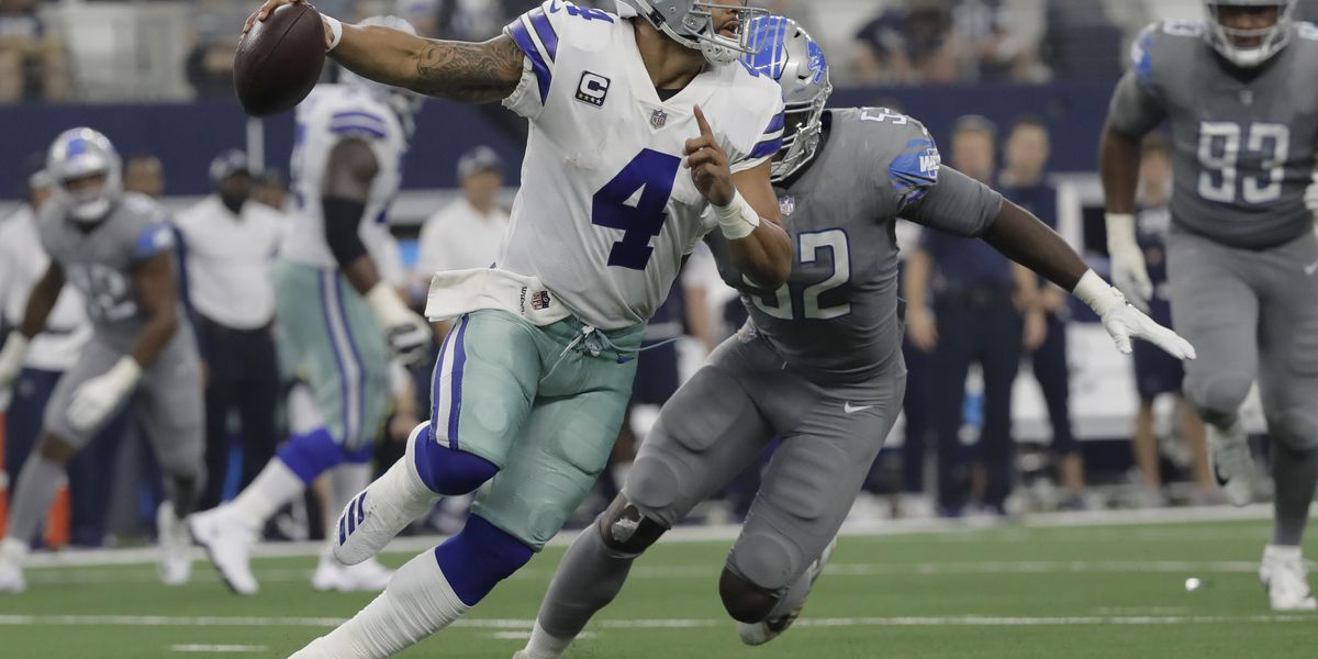 Prescott's rookie flashback gives Cowboys building block