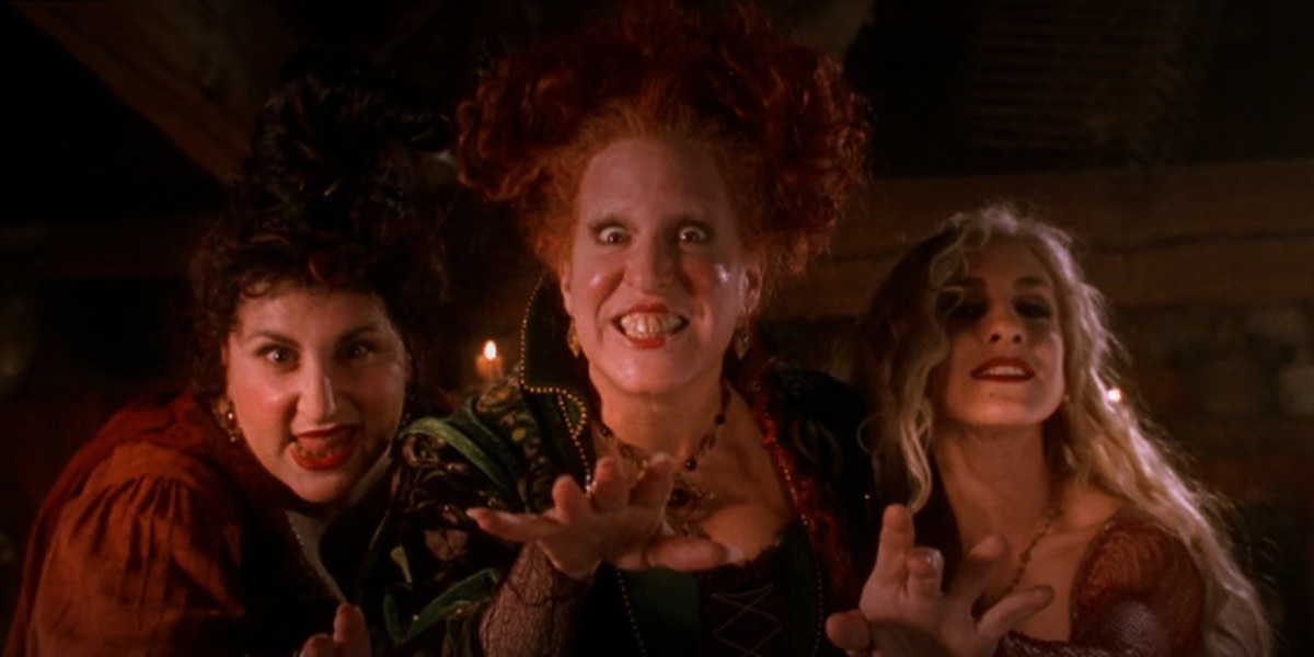 Freeform to air Hocus Pocus 27 times during 31 Nights of Halloween marathon
