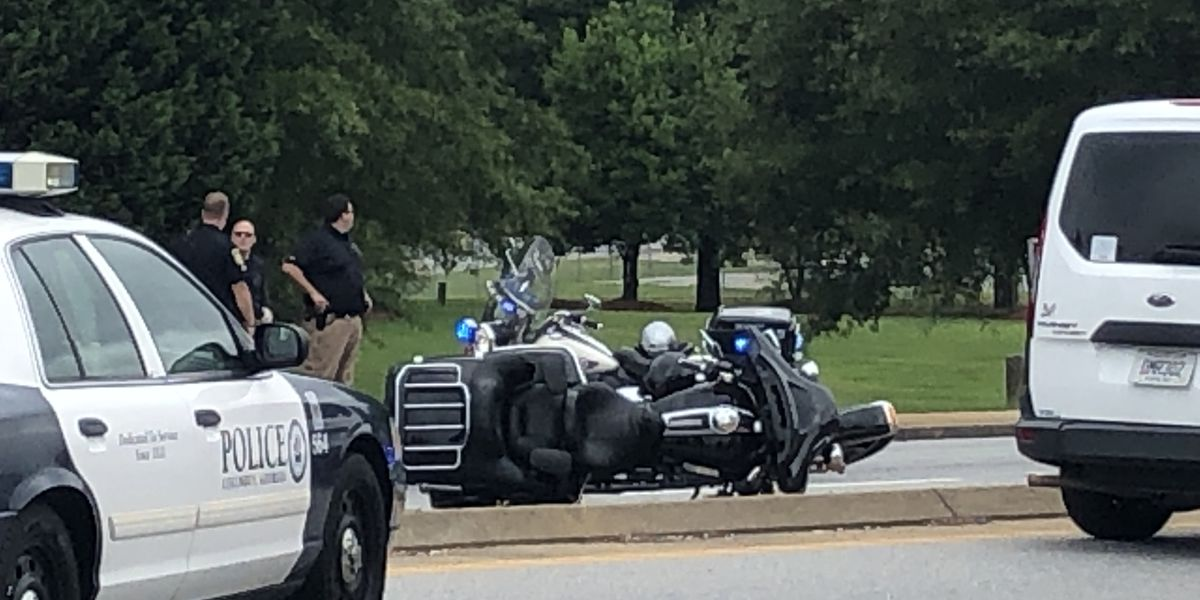 UPDATE: One dead after motorcycle, truck crash on Veterans Parkway in Columbus