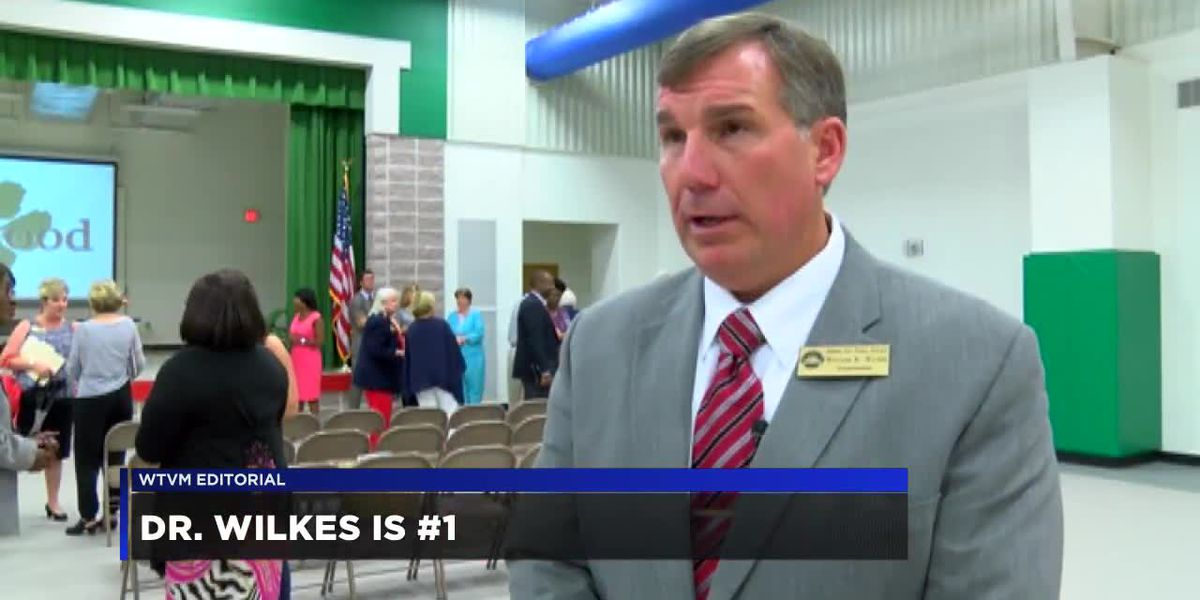 WTVM Editorial 10/16/18: Dr. Wilkes is #1