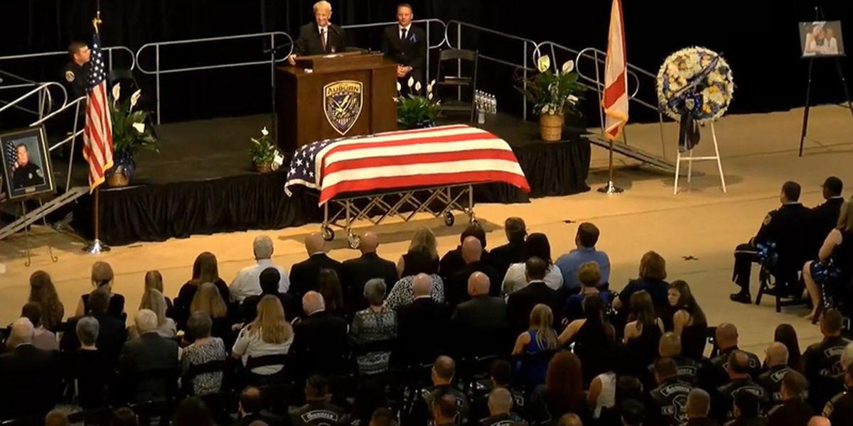 Auburn says goodbye to fallen Officer William Buechner