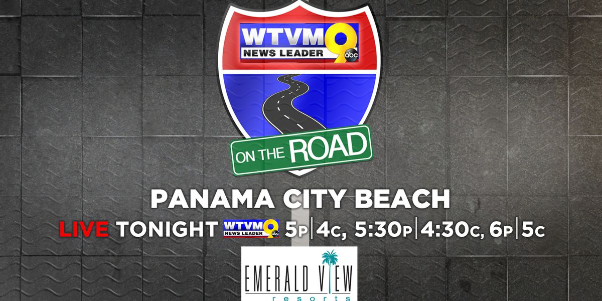 News Leader 9 is On The Road to Panama City Beach