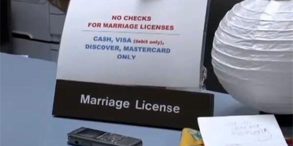 Alabama marriage forms change next week