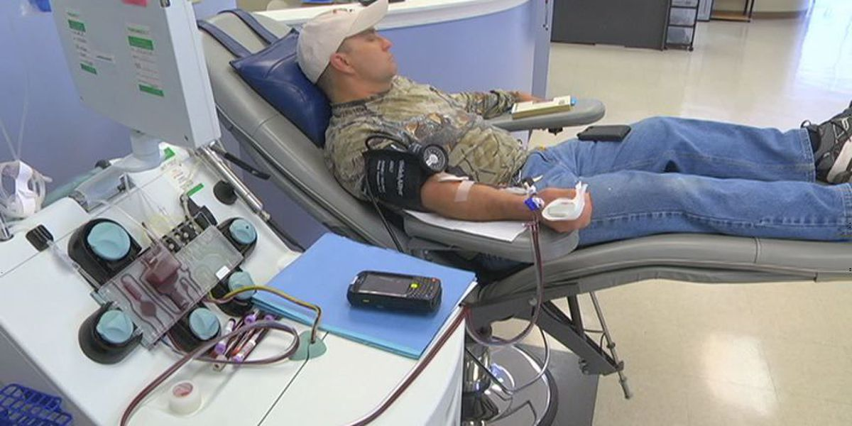 "Parts of Alabama experiencing ""Emergency Levels"" of blood donations"