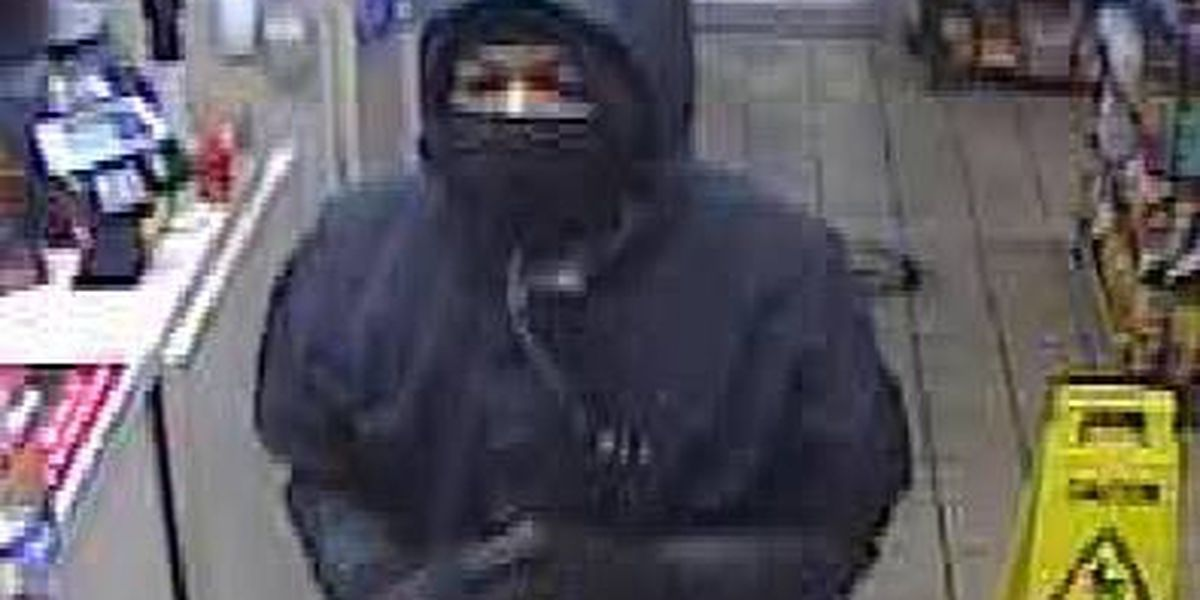 Phenix City PD looking for armed robbery suspect caught on camera