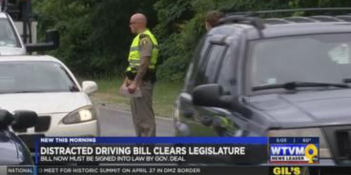 New distracted driving bill moves forward as Georgia legislative session ends