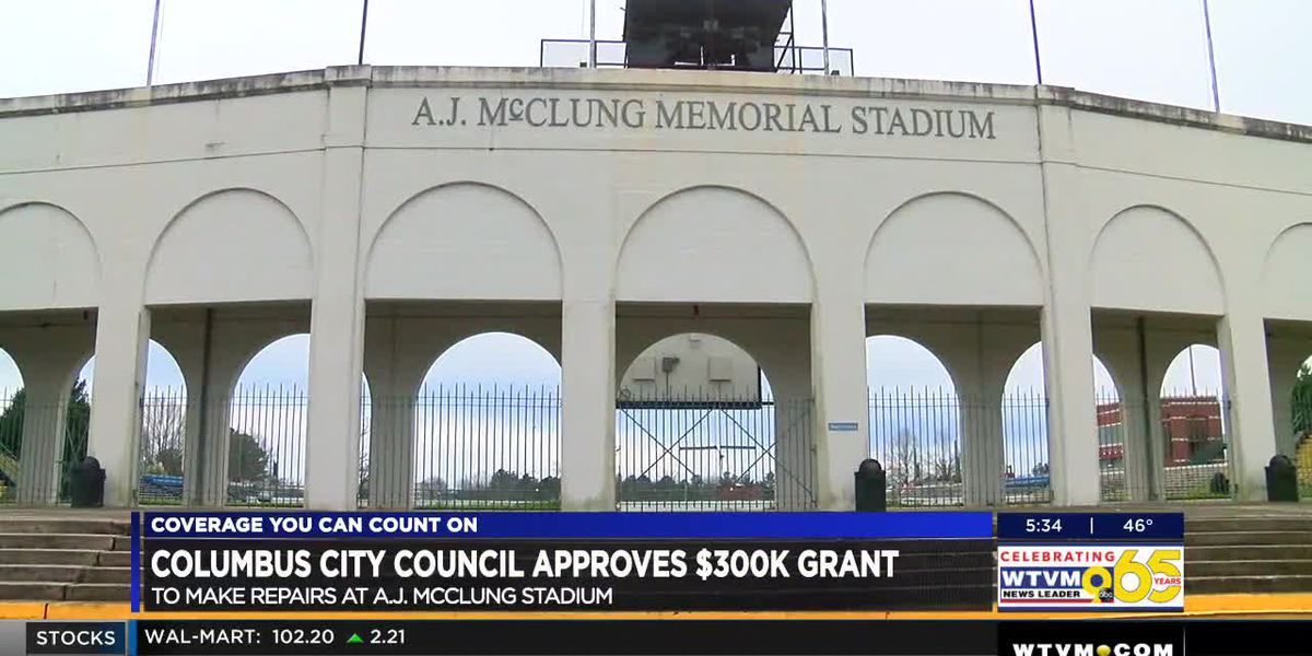 Columbus City Council approves grant for repairs at A.J. McClung Memorial Stadium