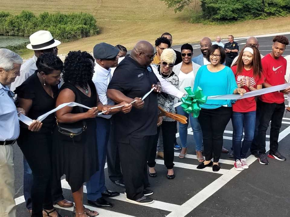 Lake Jimmy Jackson opens in Hogansville
