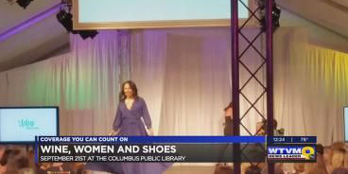 SEGMENT: Wine, Women and Shoes fundraising event in Columbus