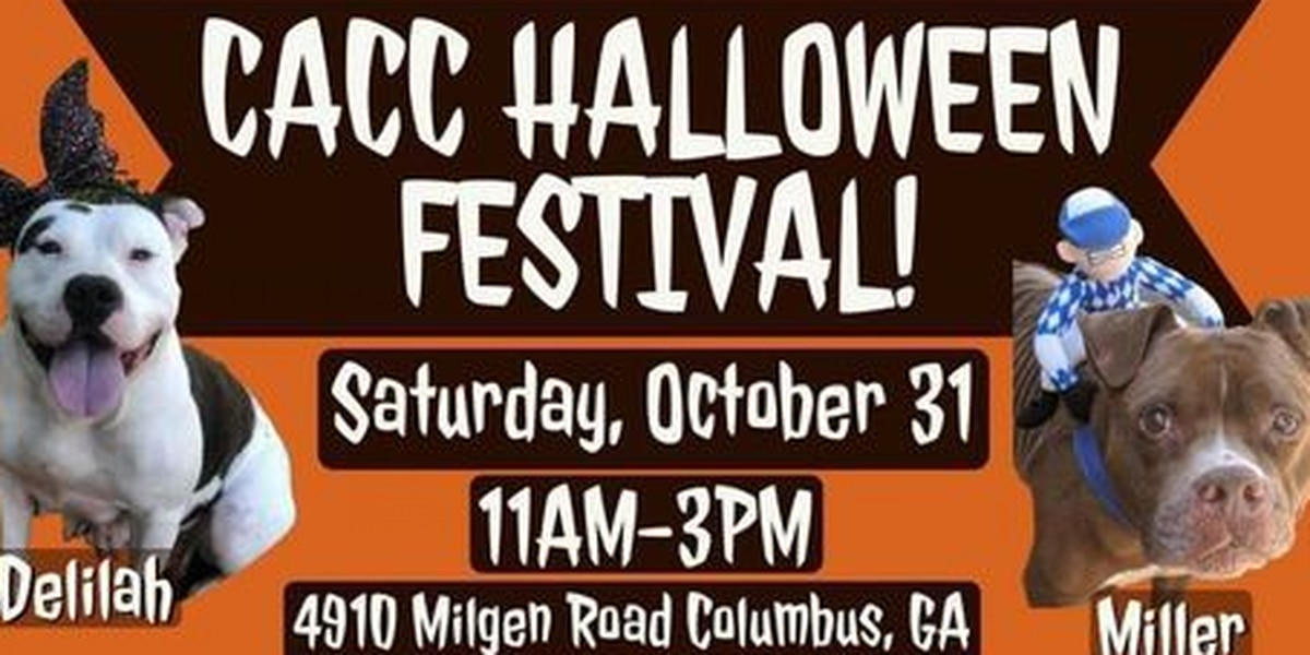 Columbus Animal Care and Control Center holds Halloween fall festival