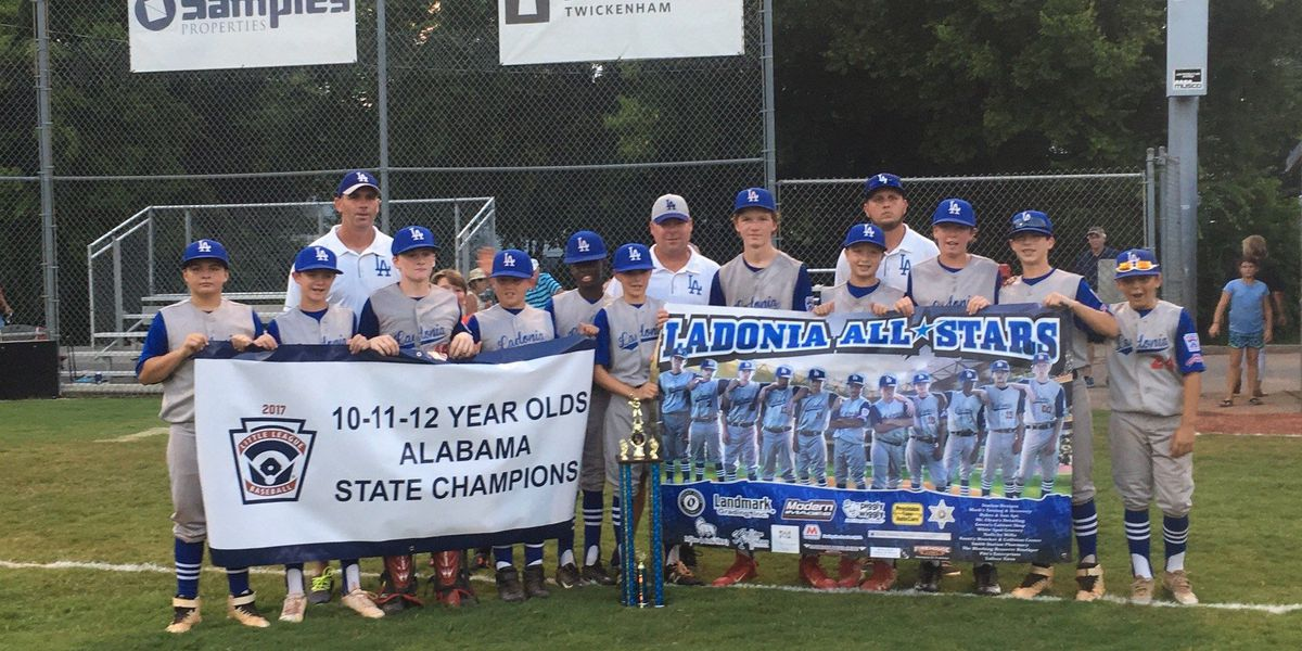 Ladonia All-Stars win Alabama Little League baseball state title
