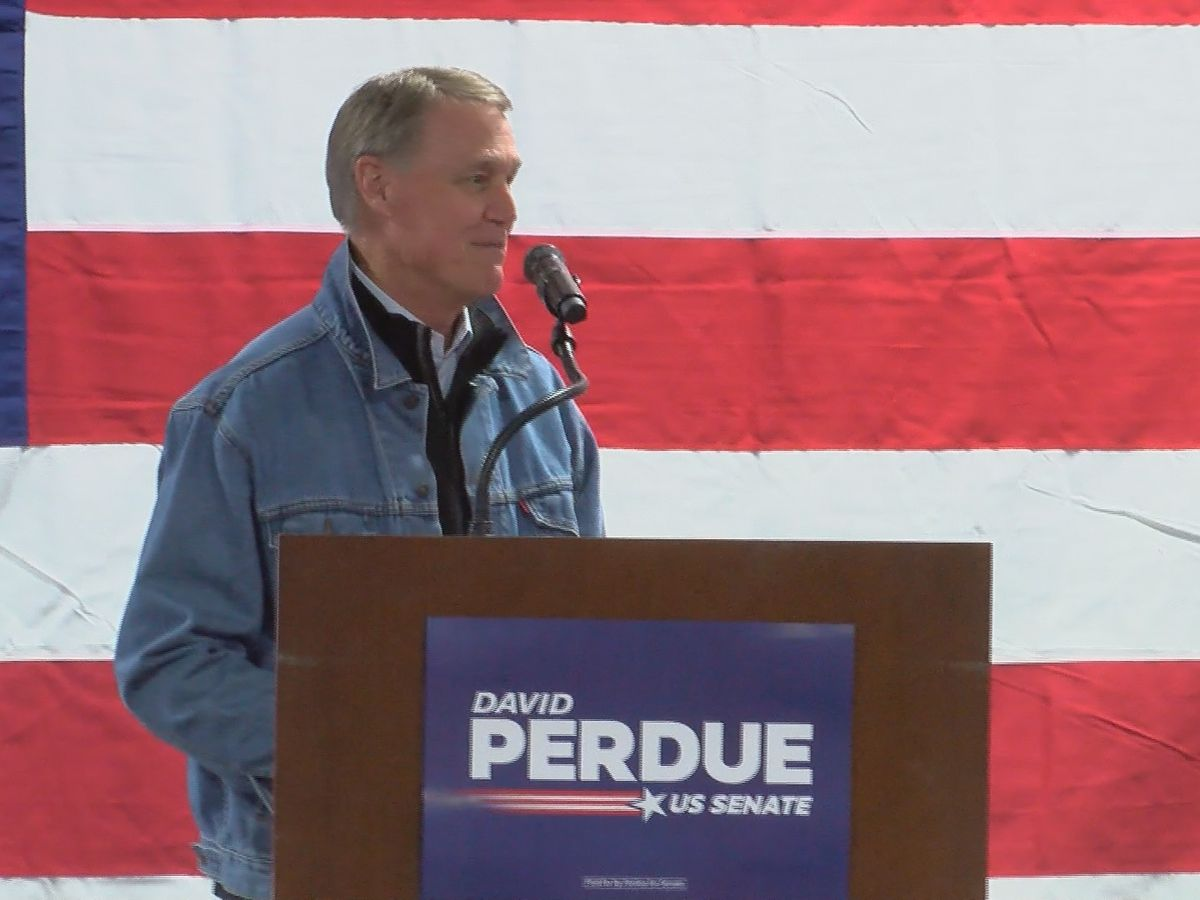 Perdue rules out Senate campaign