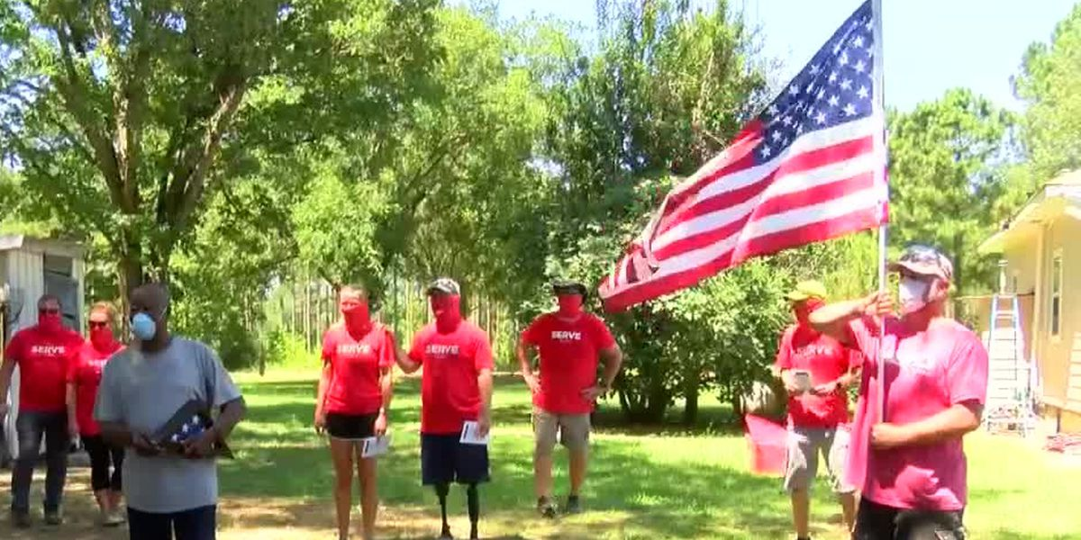 House of Heroes, Church of the Highlands help local veterans with home repairs