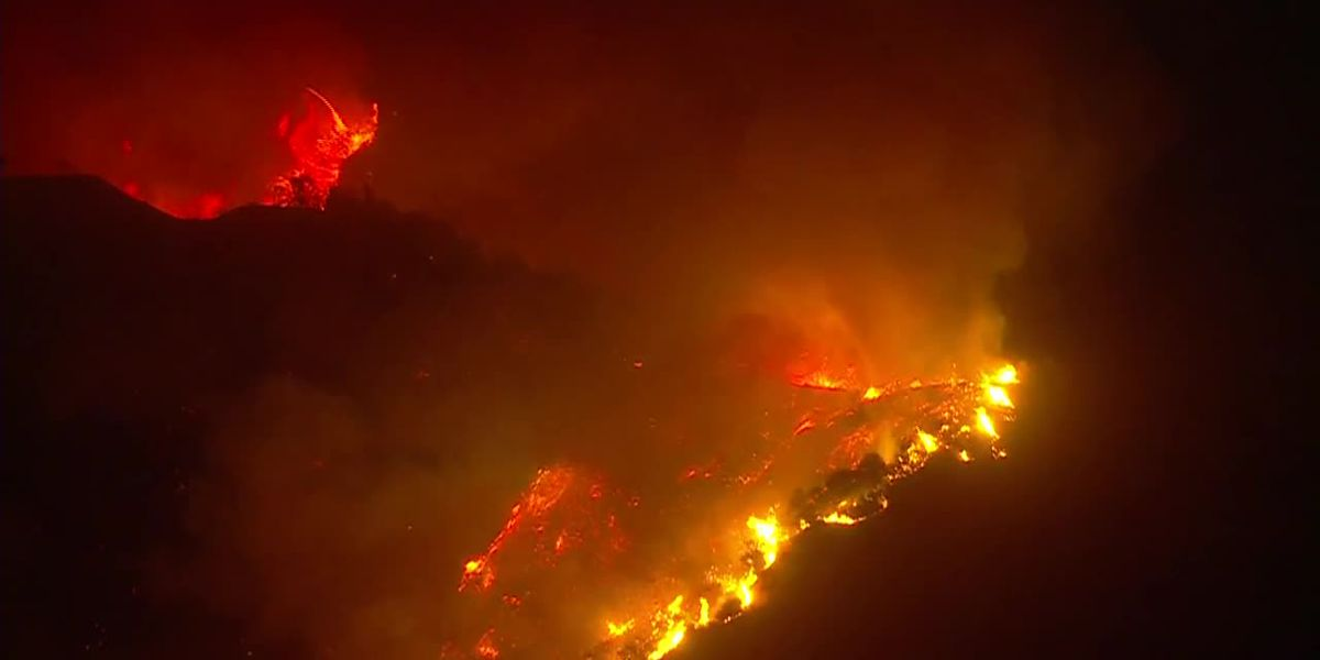 Wildfires burn through 3 states