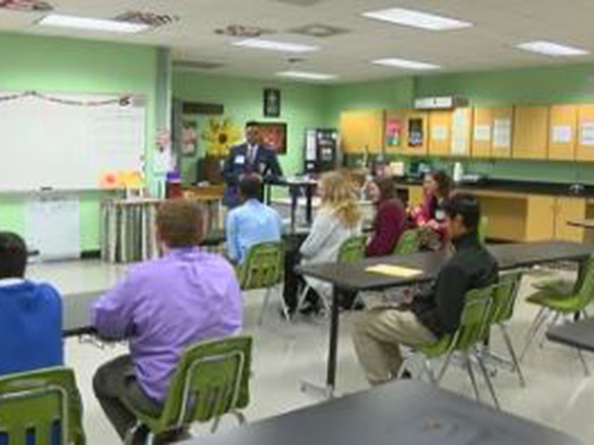 Shaw High School in Columbus hosts regional Future Business Leadership Conference