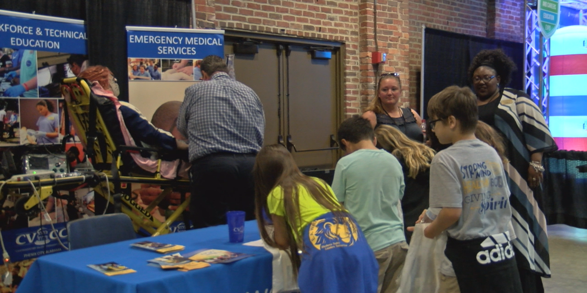 Students learn about future opportunities at college and careers education expo