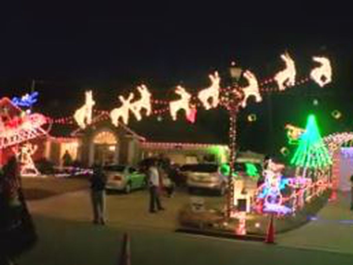 Ludy Christmas Light Spectacular opens in Columbus