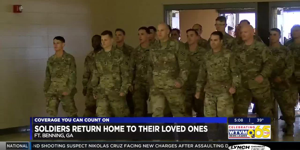 100+ soldiers deployed in Afghanistan return to Ft. Benning