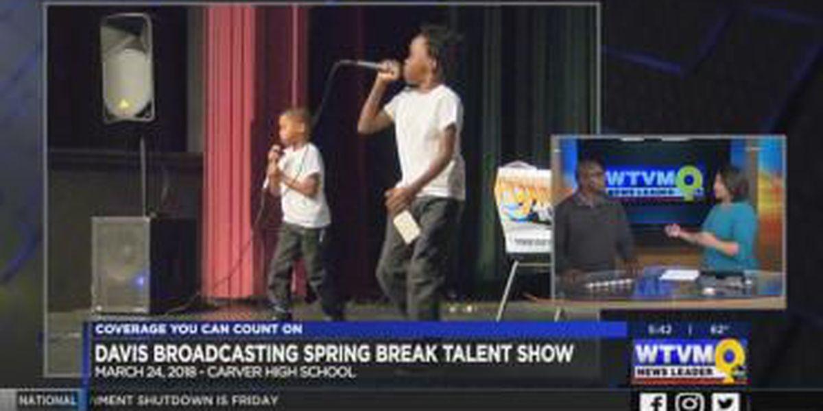 GUEST SEGMENT: Foxie 105 hosts Spring Break Concert and Talent Show