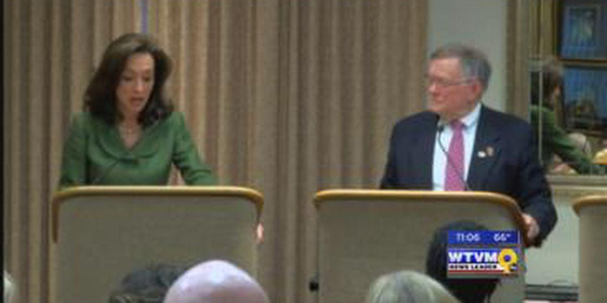 Former GA politician, Columbus mayor hold debate Wednesday