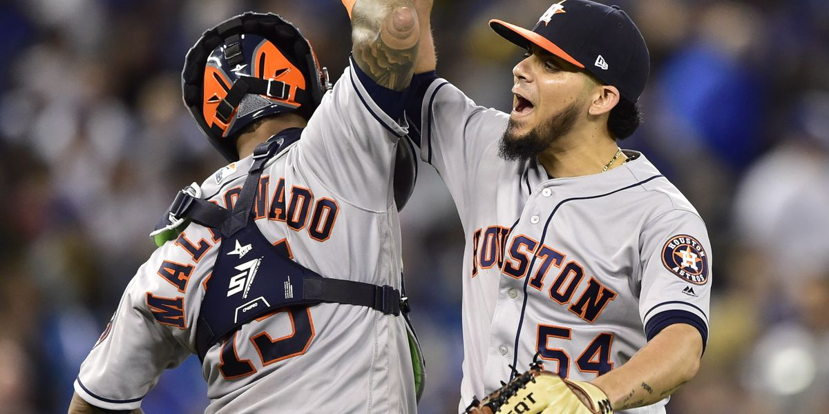 Astros clinch 2nd straight AL West title, win 100th