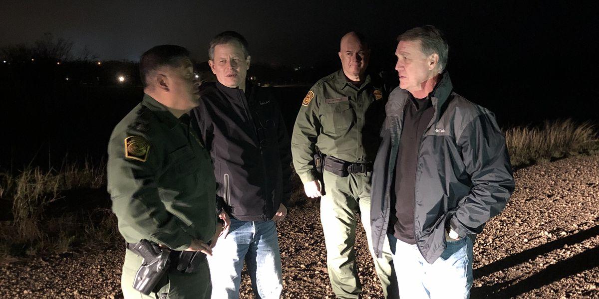 Senator David Perdue visits U.S.-Mexico border
