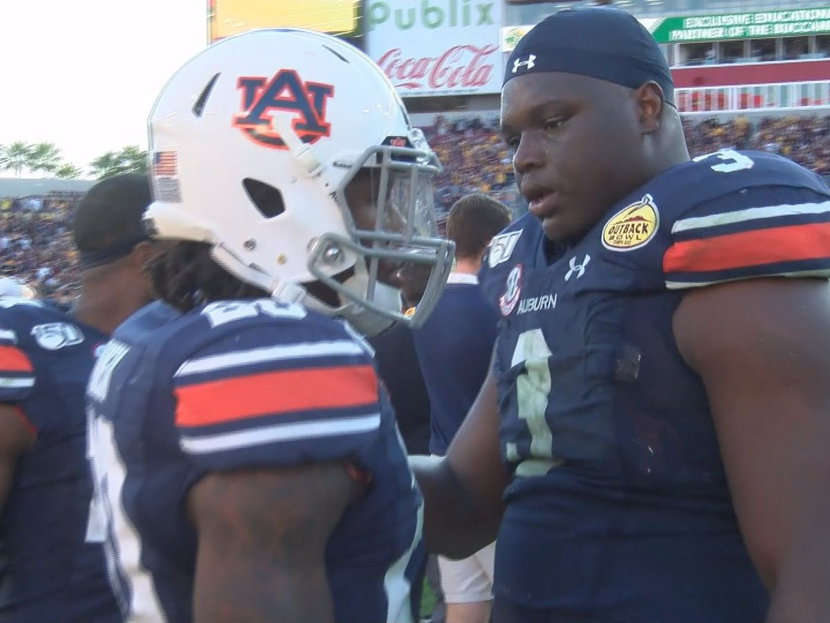 Davidson, Brown made impact with Auburn Tigers