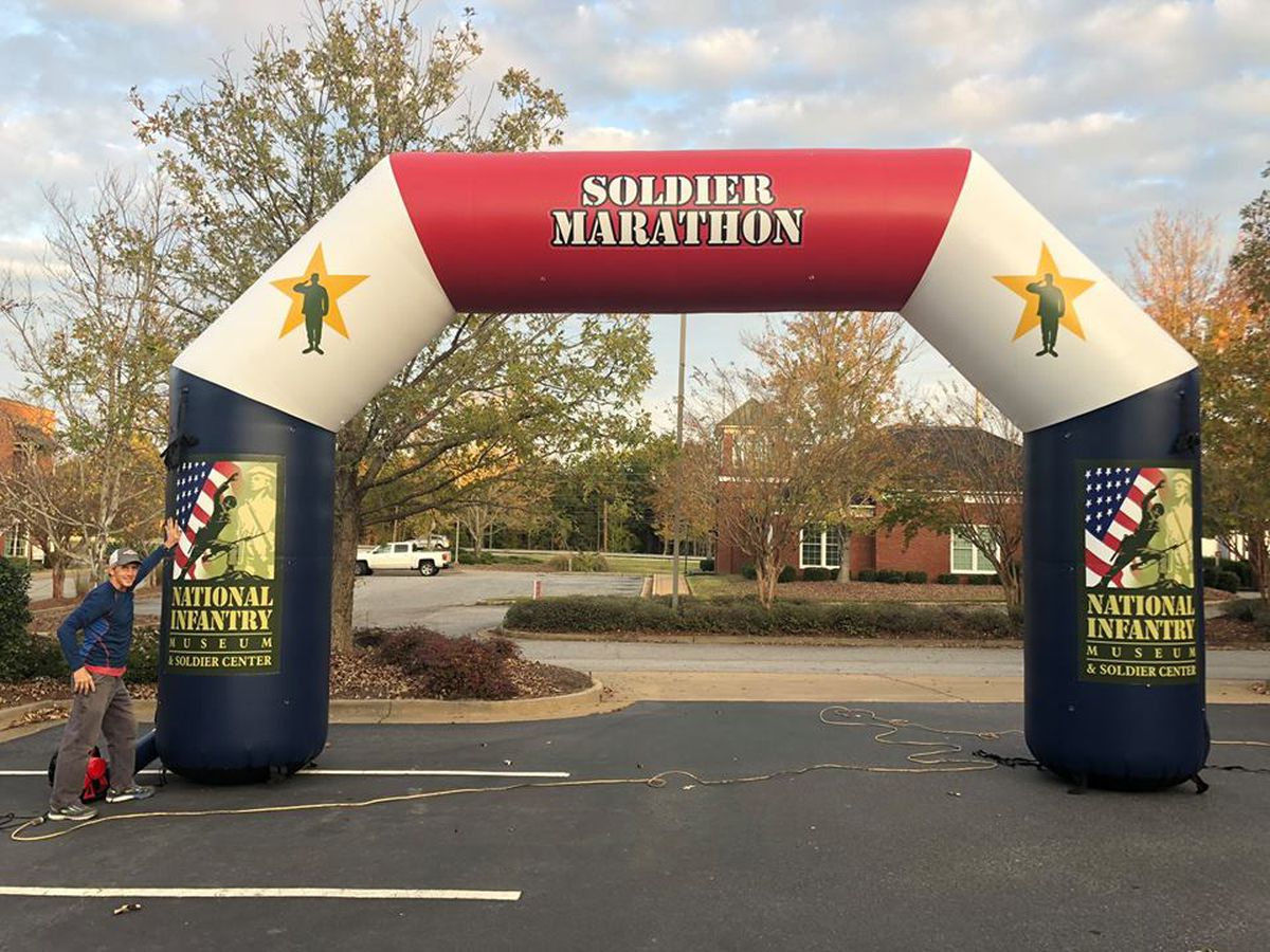 Annual Soldier Marathon course in Columbus, Ft. Benning changes due to heavy rainfall