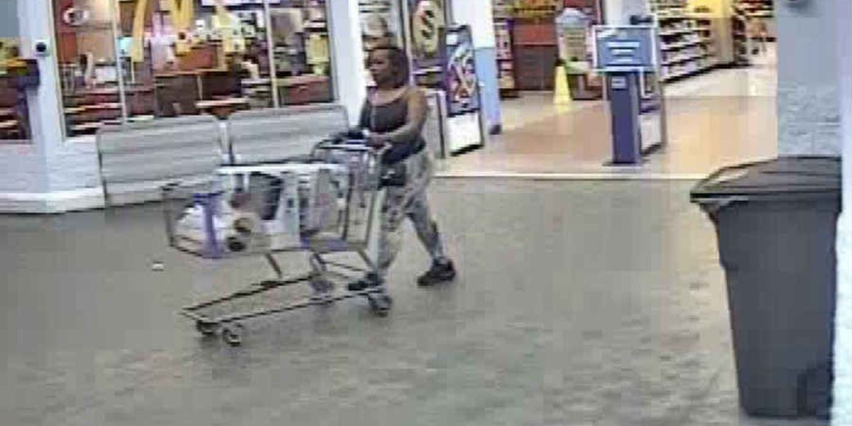 OPD searching for Walmart credit card fraud suspect