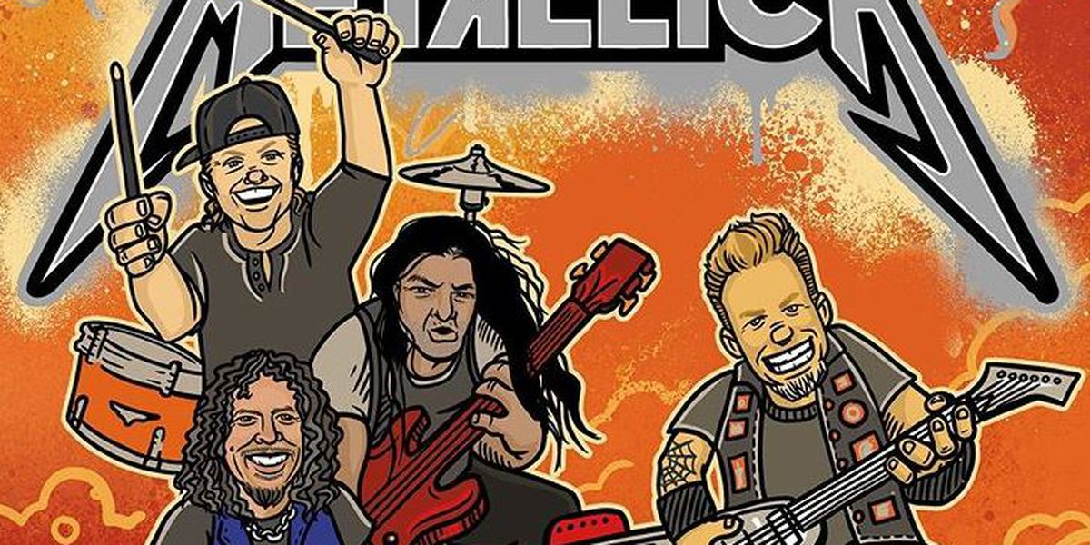 Metallica releasing children's book