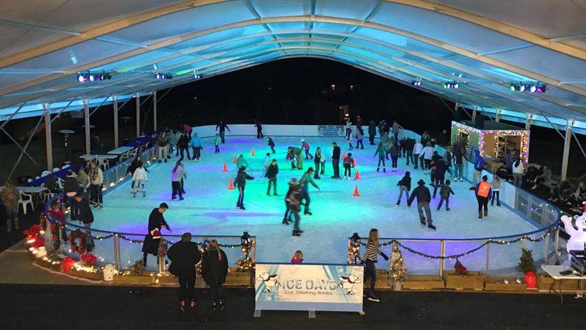 Auburn ice skating rink opens for the season