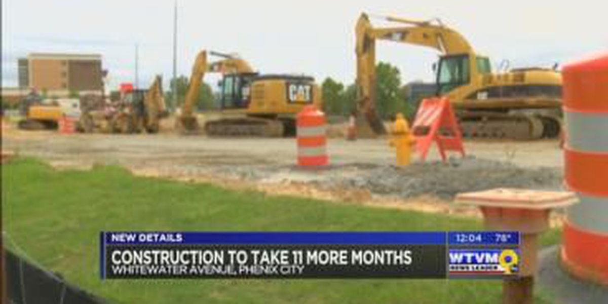 Construction on Whitewater Ave. could take nearly a year to complete