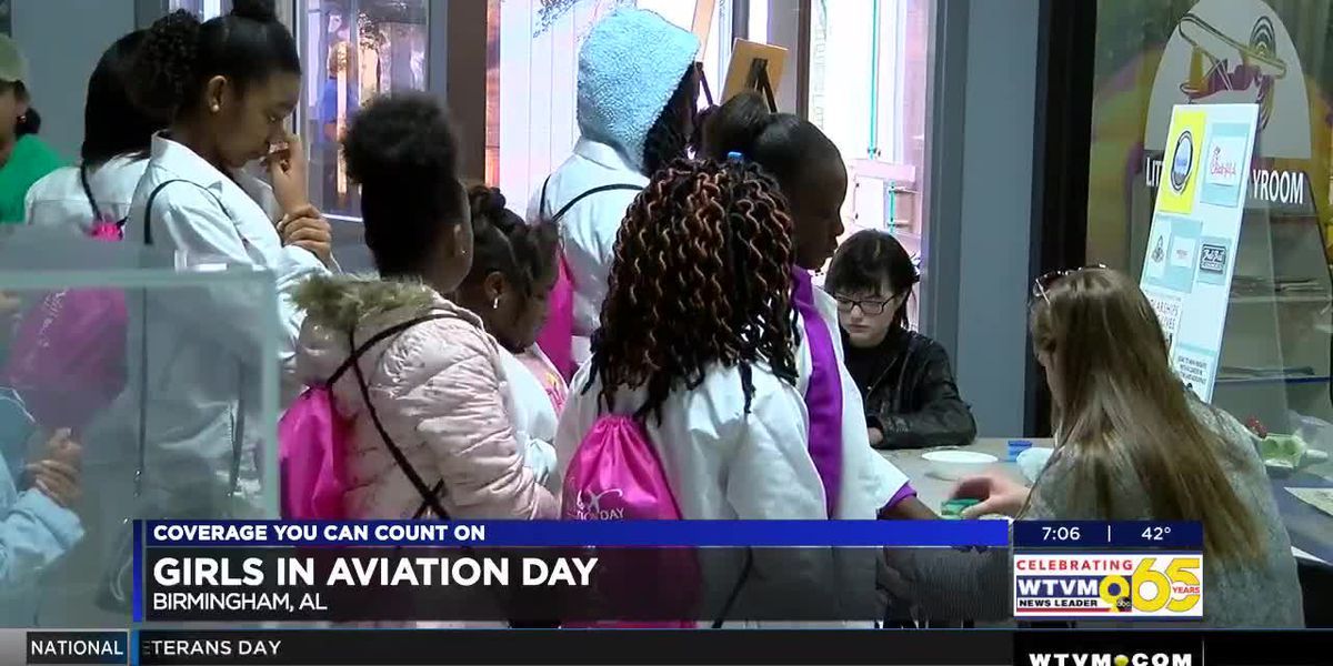 4th annual Girls in Aviation event gives young women chance to explore the industry