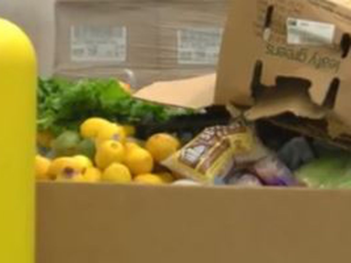 Loan executives tour Feeding the Valley Food Bank in Columbus