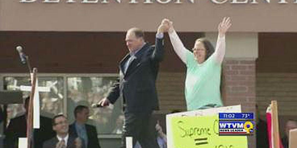 GA religious freedom bill sparks debate over KY's clerk arrest