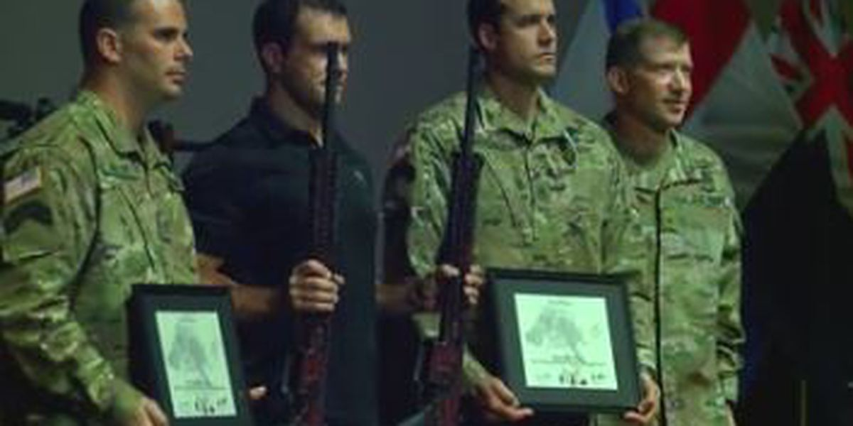 Best Sniper Competition ends with award ceremony