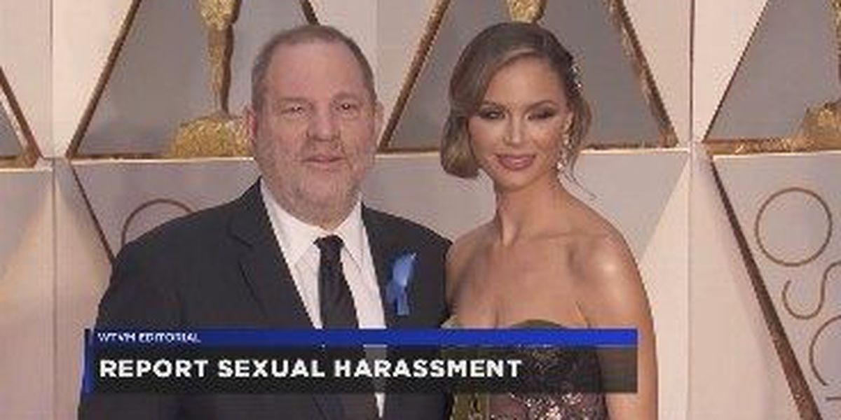 WTVM Editorial 10/24/17: Report sexual harassment