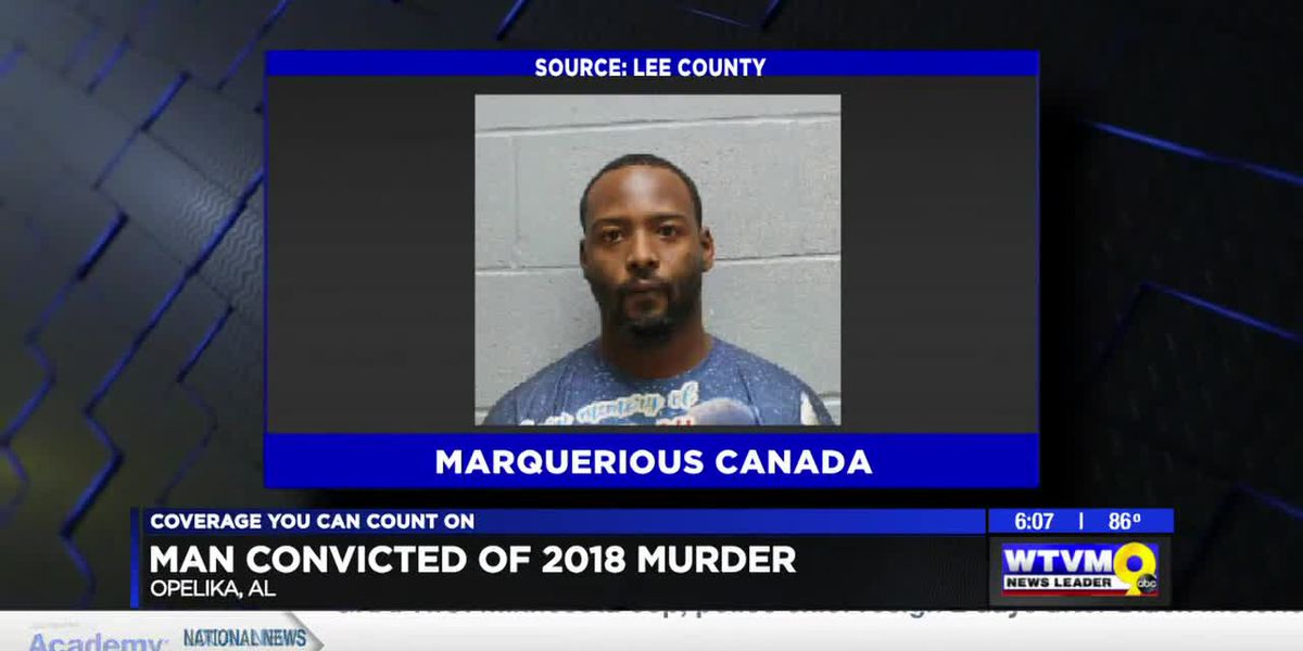 Man convicted of murder in 2018 Opelika mobile home park shooting