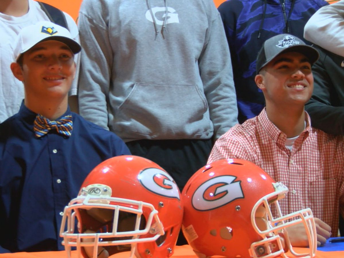 Two Glenwood Gators sign Letters of Intent
