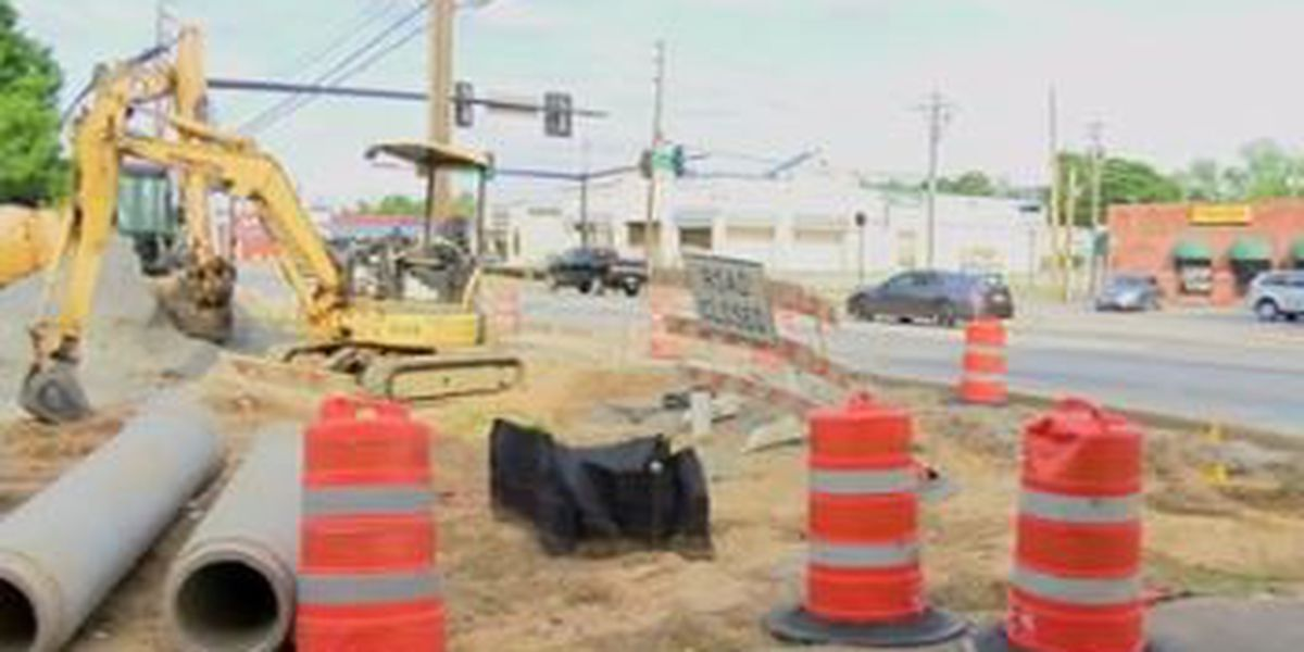 Construction on Wynnton Road expected to be completed in August 2018