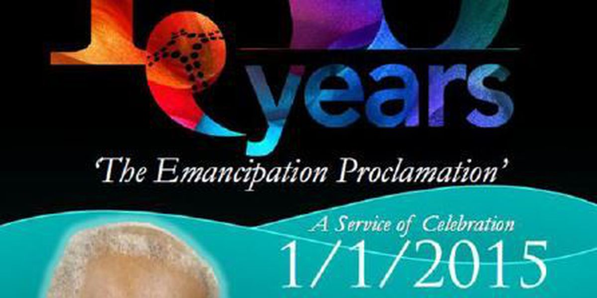 Interdenominational Ministerial Alliance celebrates the Emancipation Proclamation