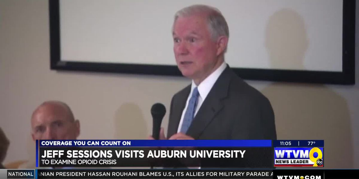 VIDEO: U.S. Attorney General Jeff Sessions visits Auburn University
