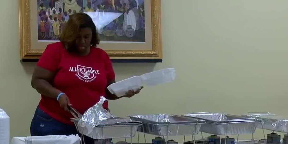 Columbus church hopes to connect community by providing meals to those in need