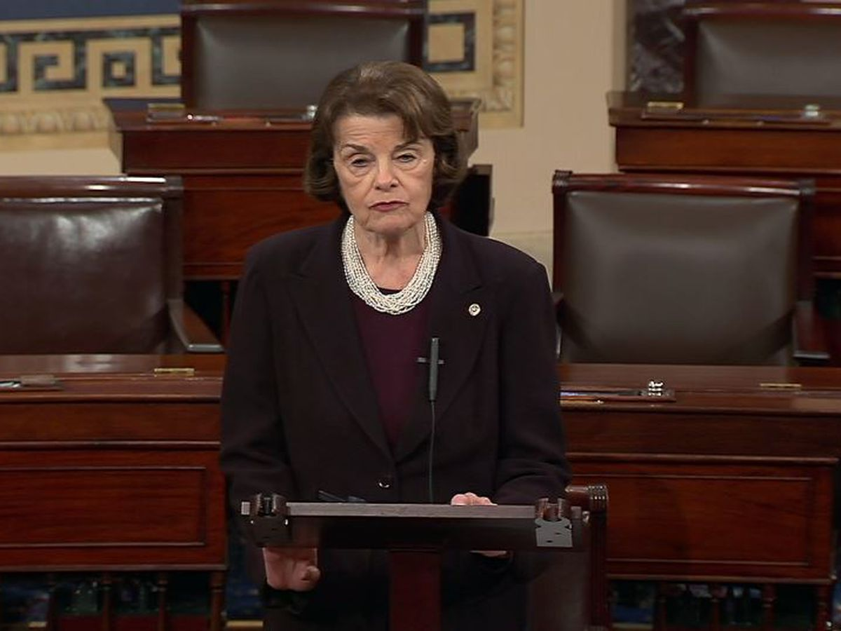 After criticism, Feinstein to step down as top Judiciary Dem