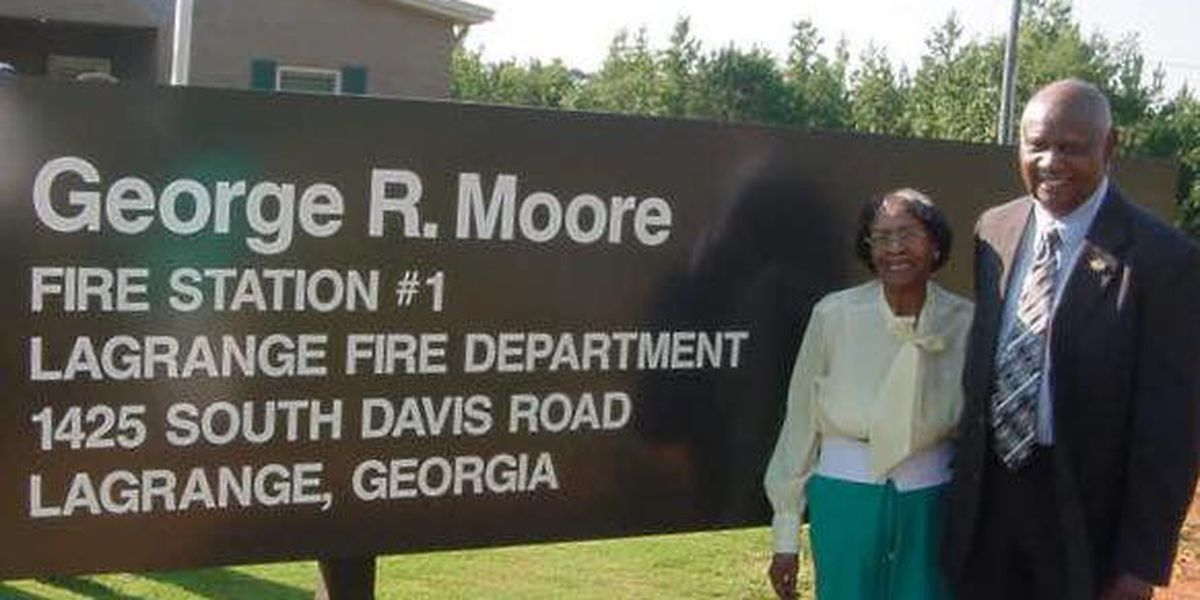 LaGrange honors the life of former City Councilman George R. Moore, Sr.