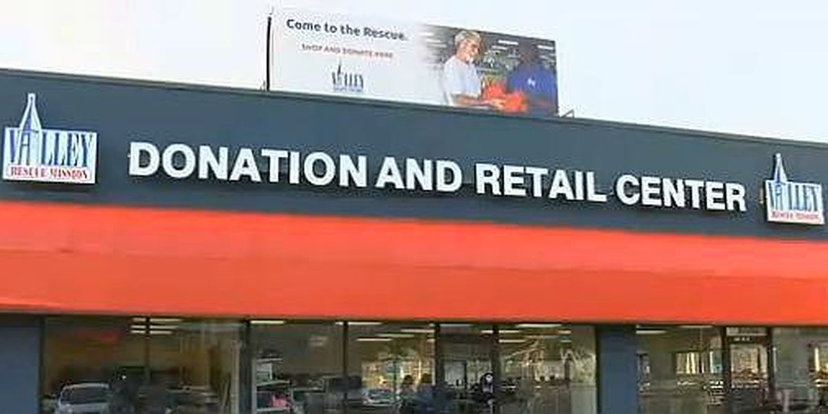 Valley Rescue Mission opens new donation, retail center