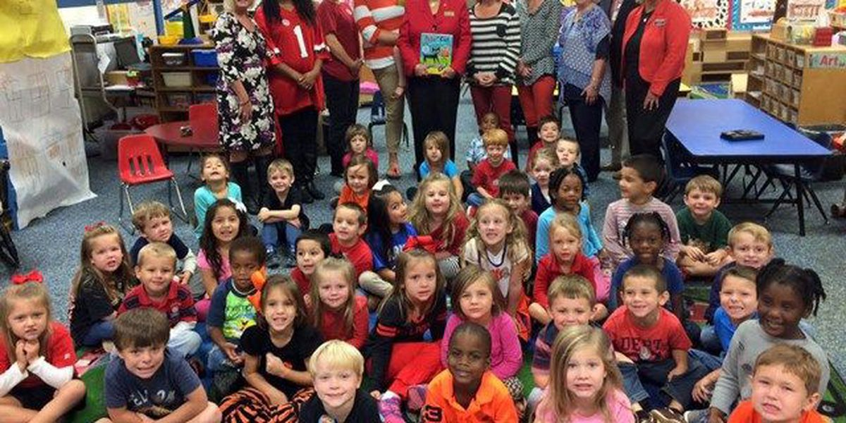 GA first lady reads to Chattahoochee Valley kids Monday