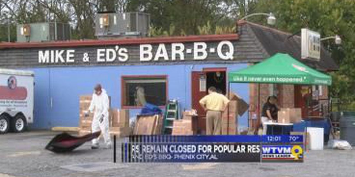 Phenix City's Mike and Ed's BBQ remains closed following structure fire