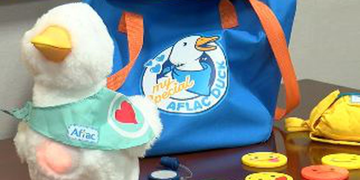 My Special Aflac Duck transforms children's cancer treatment experiences